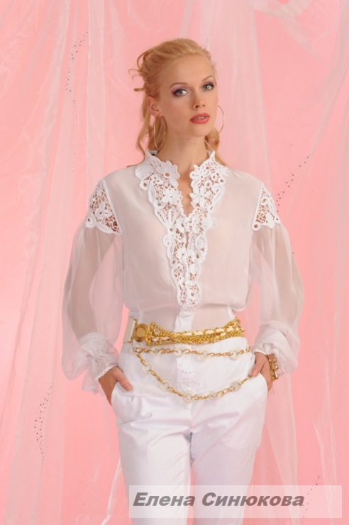 Блузка Ткань Крючок В Новосибирске