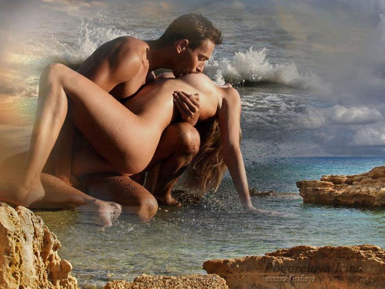 Обнаженная Красивая Любовь