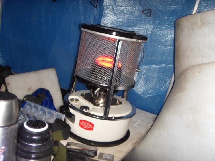 доработка газовой горелки для рыбаков