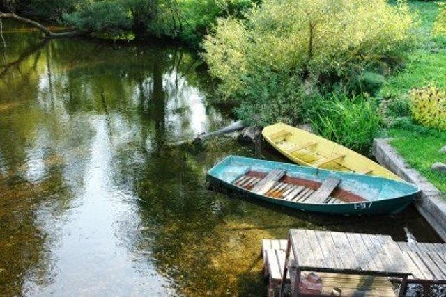 лодки на смолино