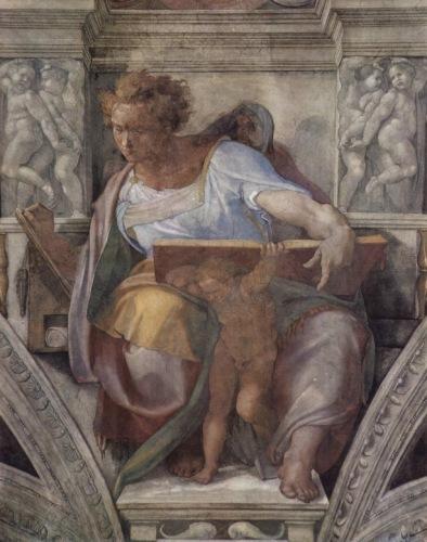 Микеланджело. Пророк Даниил