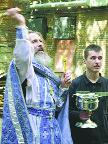 Иерей К.Кобелев, ст.священник храма Поерова Пресвятой Богородицы в Бутырской тюрьме