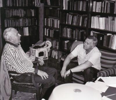 Игорь Шафаревич и АлександрКрутов