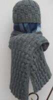 Рхема 15 - вязание спицами береты шапки схемы. шапка вязаная женская...