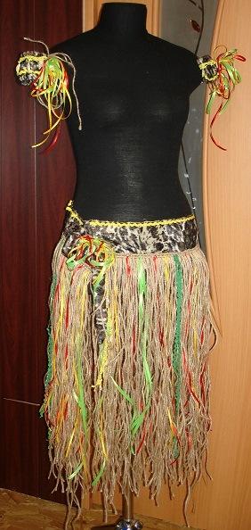Как сделать костюм африканки