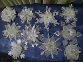 Сладкие снежинки своими руками