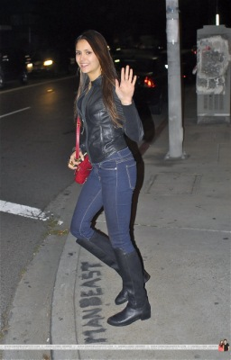 Nina Dobrev in West Hollywood [2 февраля]