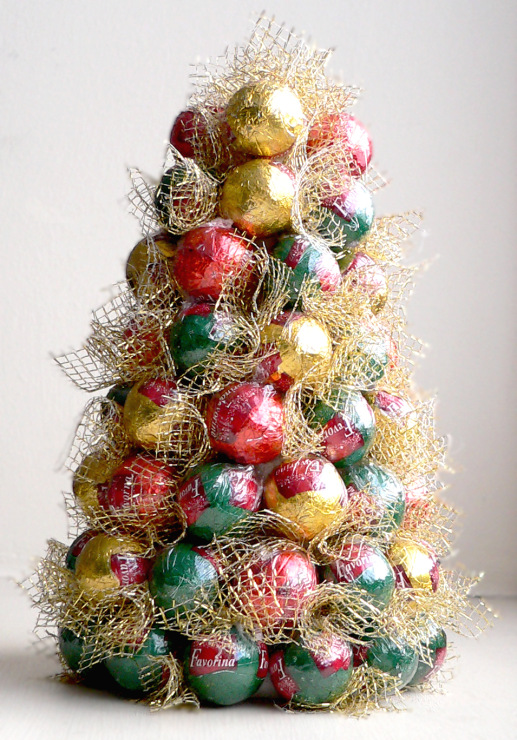 how to make sweet christmas tree
