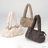 вязаные спицами женские сумки 2012 со.