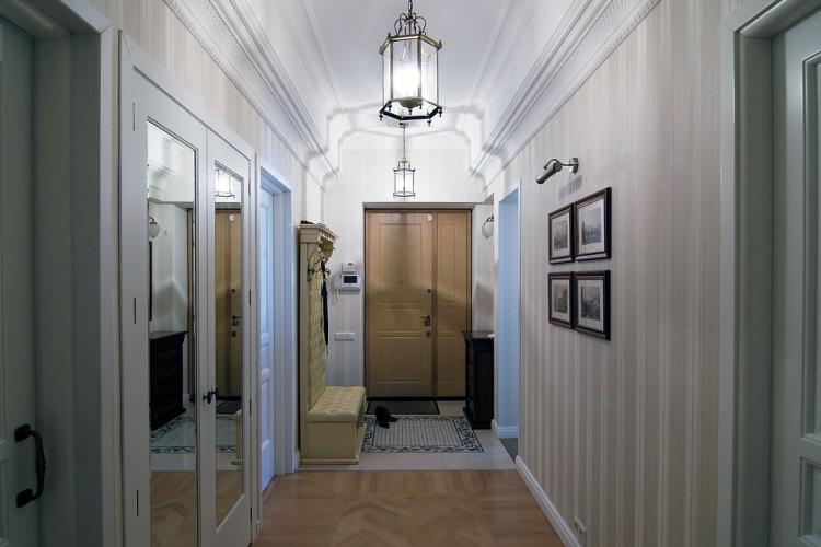 Дизайн коридора в сталинке