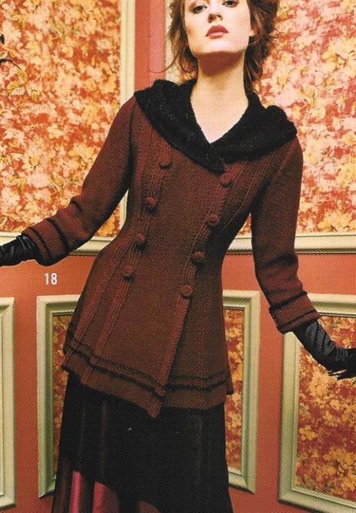 модели и схемы вязания пальто кардигана спицами, вязание крючком.