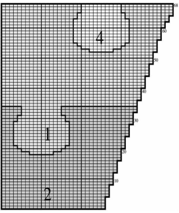 Описание: Детский вязаный свитер Пазл Вязание.