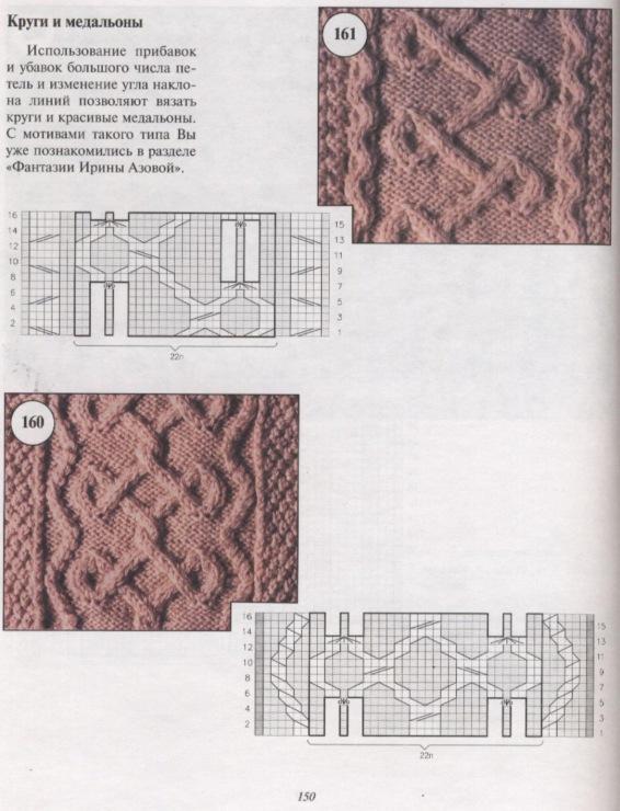 вязание аранов схемы.