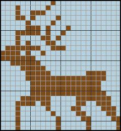 Схеми за плетене - елени