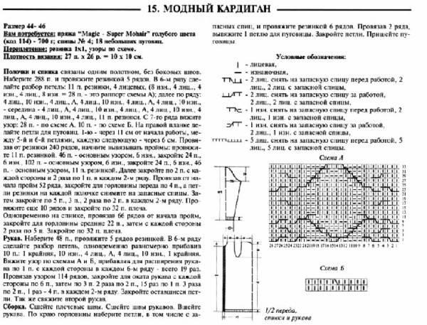 Схемы узоров 10 (Араны, косы)