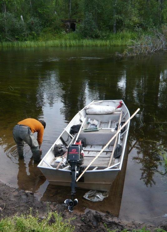 Как увеличить скорость моторной лодки — из опыта установки продольных реданов