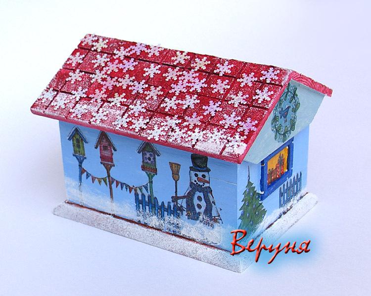 новый год поделки - Оригами.