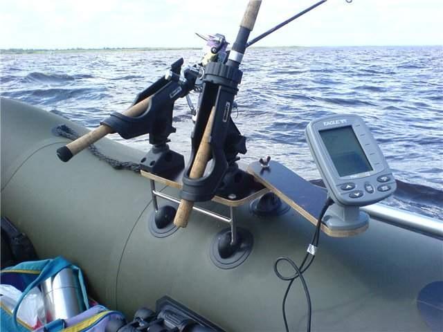 Держатели для эхолота на лодку пвх своими руками
