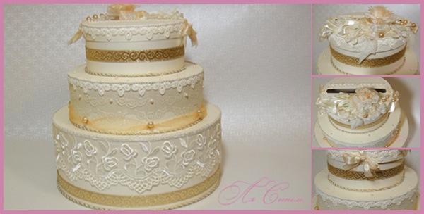 Торт на свадьбу фото своими руками