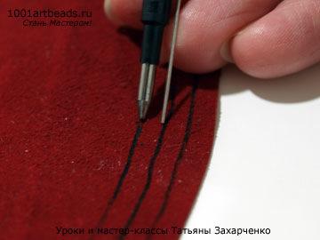 Как сделать шнурок из кожи