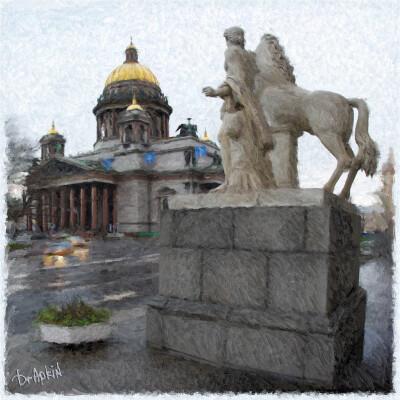 Pseudo-Painting.  Питер.  7 ноября 2010.