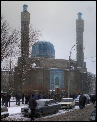 Питер. 26 ноября 2010. Мечеть.