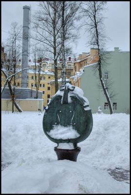 Питер. Сквер им. Андрея Петрова.