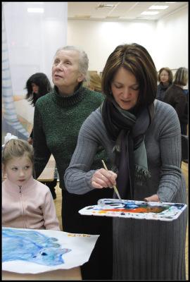Детский мастер-класс Елены Базановой