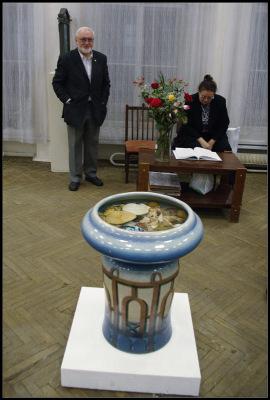 Керамика Владимира Гориславцева. Выставка в ВЦСПбСХ 25 декабря 2010