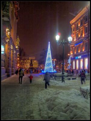 Малая Садовая улица. 3 января 2011. Мобилография