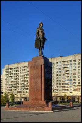 Питер. Васильевский остров. Октябрь 2010.