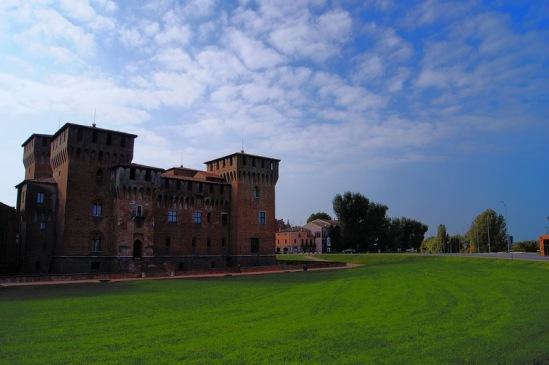 Мантуя. Замок Сан-Джорджо.
