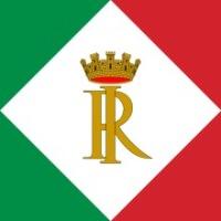 Штандарт, который использует почетный Президент Италии.