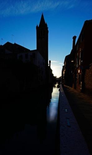 Венеция. Канал. Вечер.