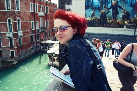 Венеция. Понте Академия на Канале Гранде.