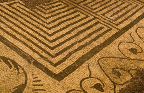 Римская мозаика из Каэрлеона