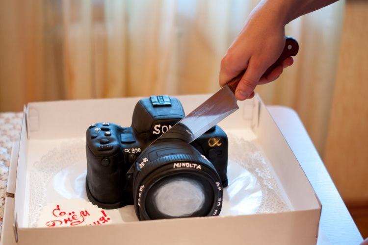 Получить в подарок фотоаппарат