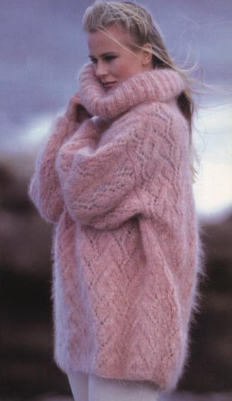 Вязанные свитера женские из мохера доставка