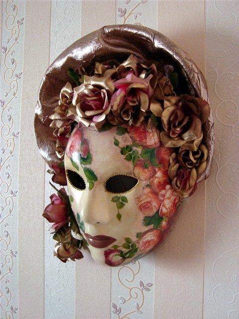 Венецианские маски своими руками мастер-класс