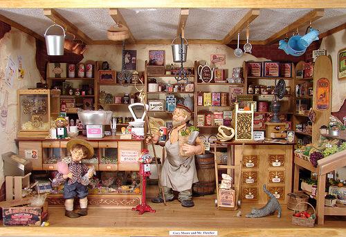 Открываем магазин миниатюры