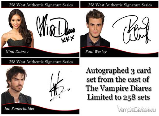 Автографы Нины, Йена и Пола