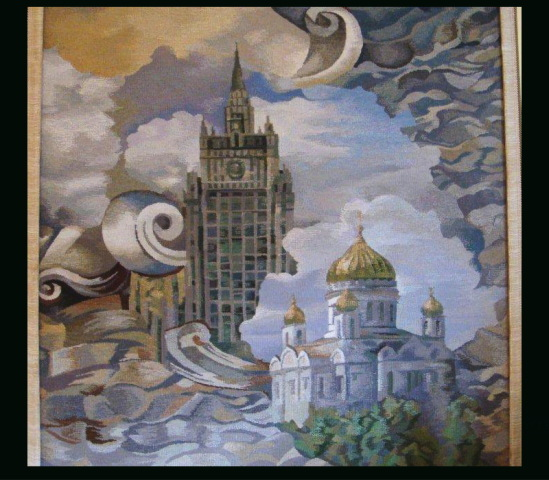 Гобелены в интерьере, автор - Наталия Мурадова