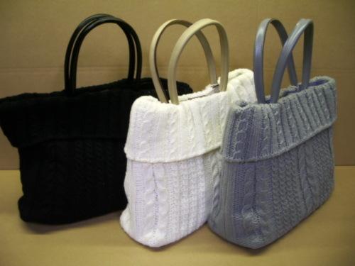 Örgü çantalar 2012