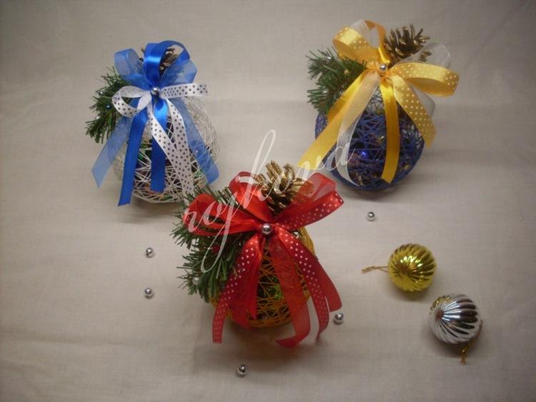 Новогодние композиции из конфет своими руками