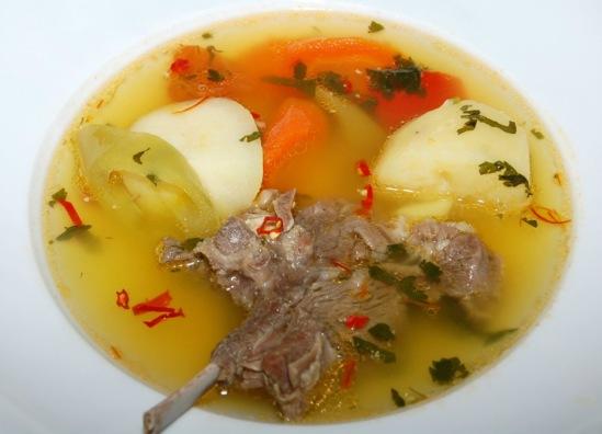 Рецепт супов из баранины в домашних условиях