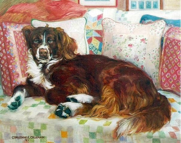 Картинка декупаж с собаками