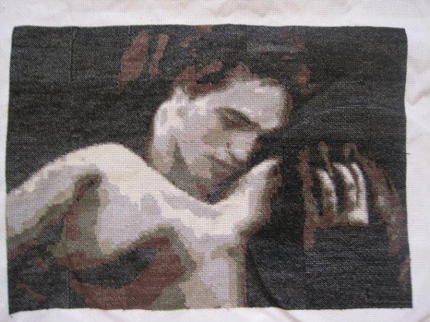 """Схема вышивки  """"Эдвард и Белла """""""