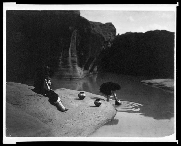 Быт северо-американских индейцев (71 фотография)