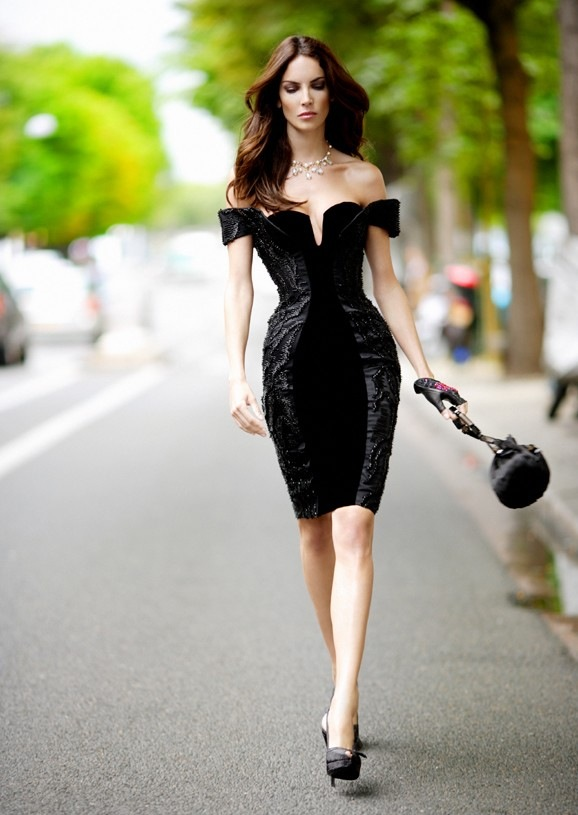Фото платья маленького черного платья