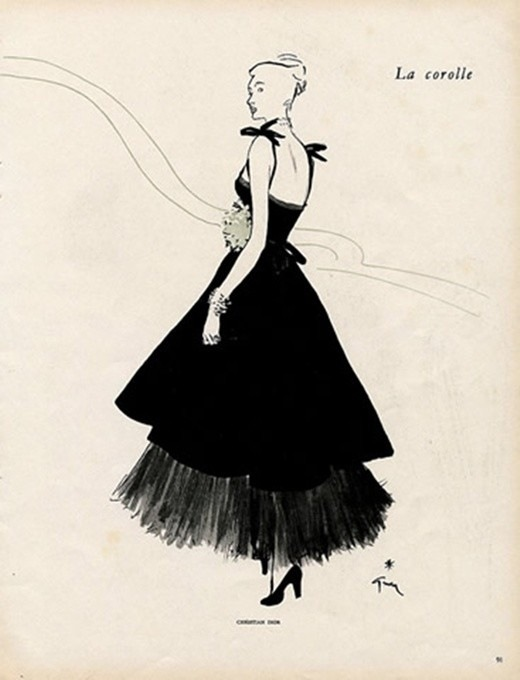 the little black dress 19201960s analee